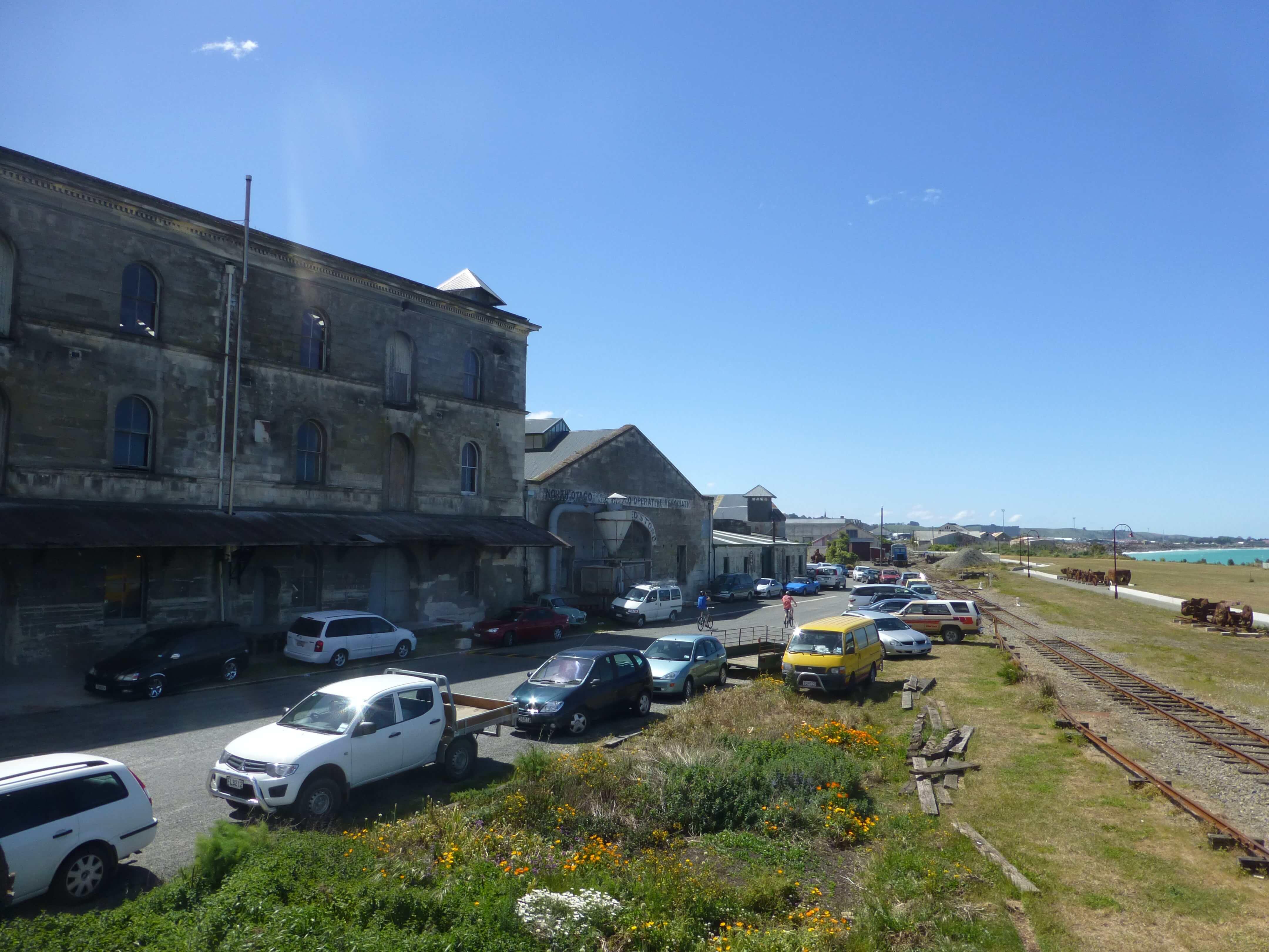 Im Hafen von Oamaru, Neuseeland 14