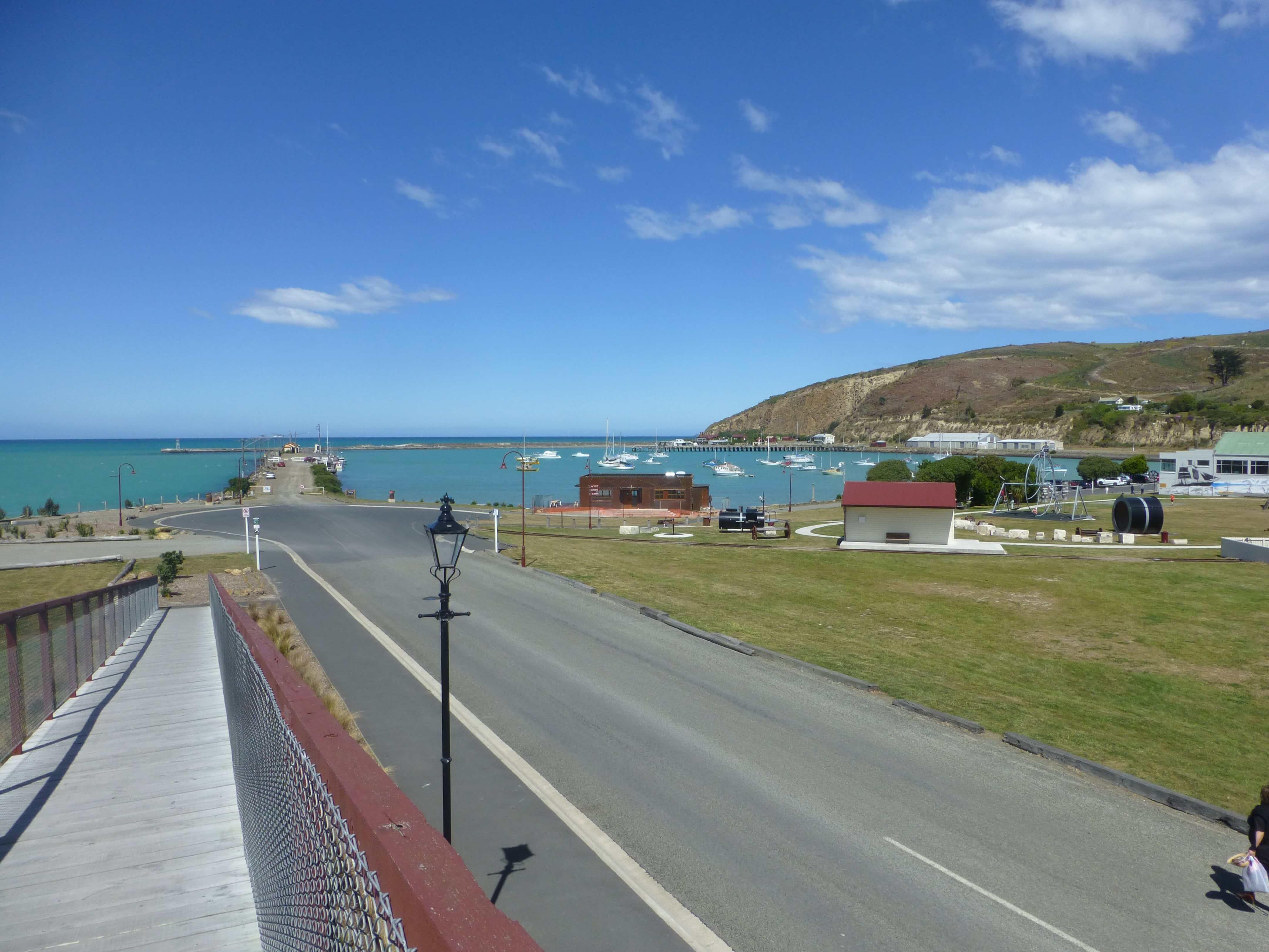 Im Hafen von Oamaru, Neuseeland 15