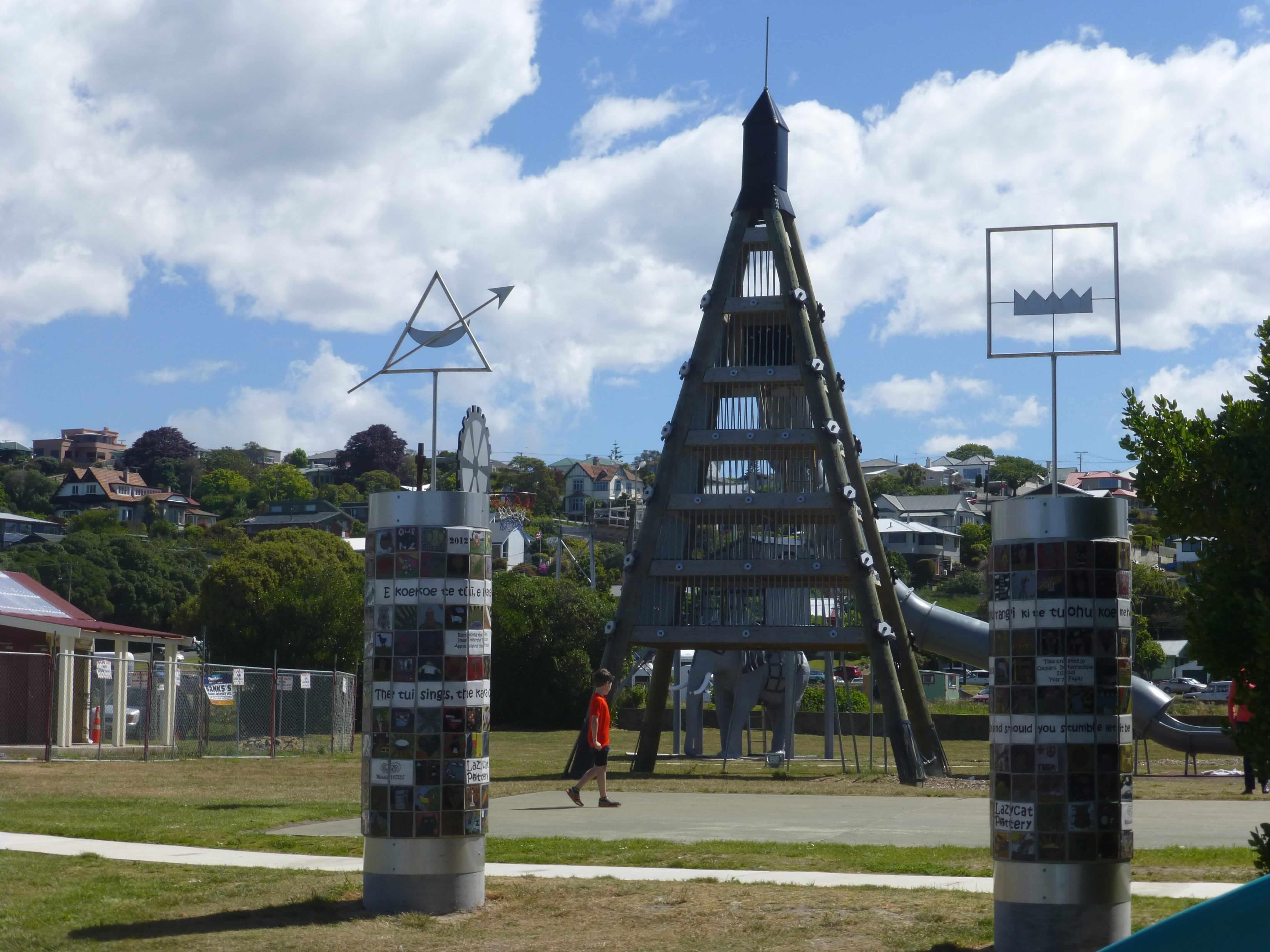 Im Hafen von Oamaru, Neuseeland 21