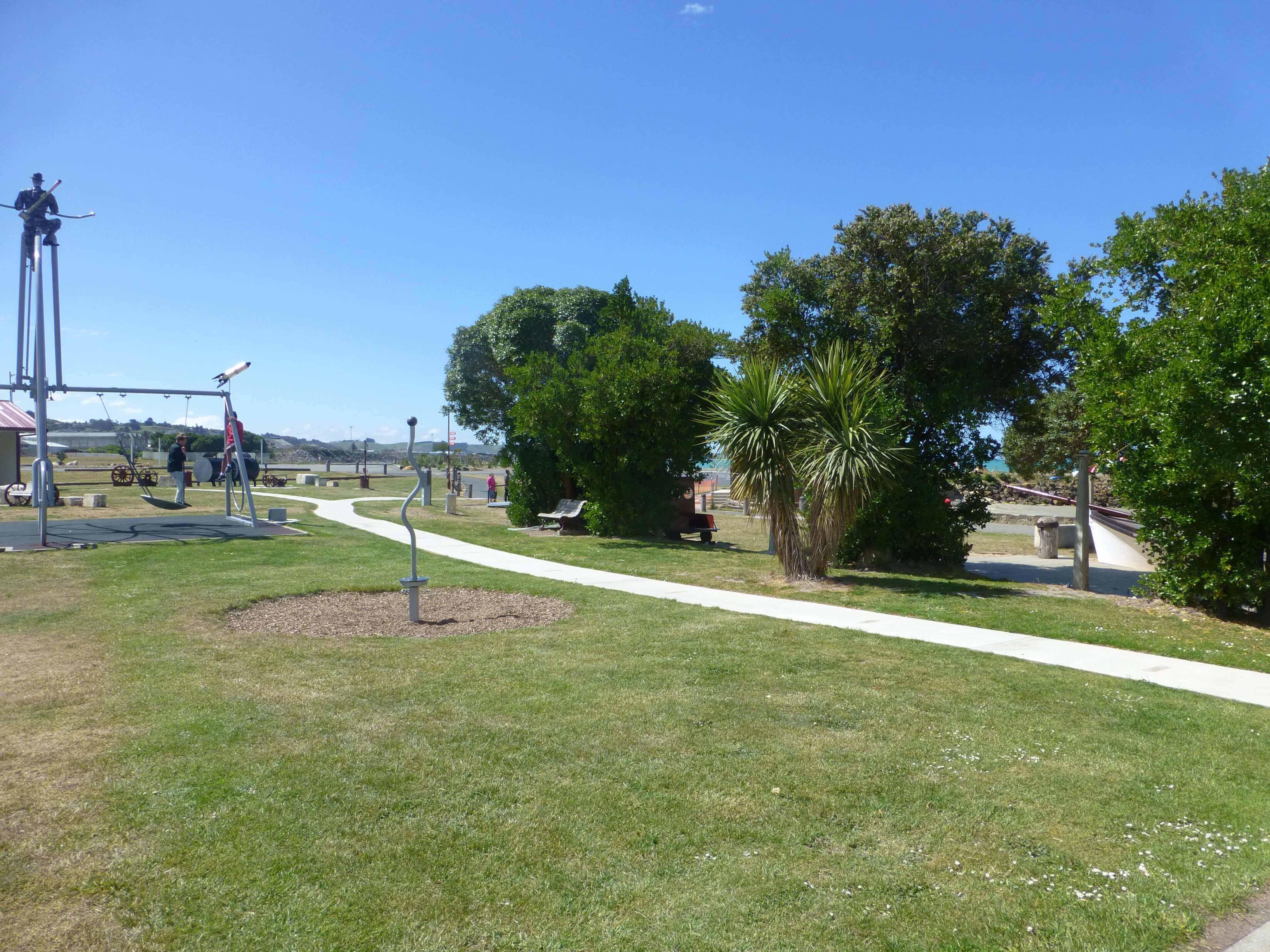 Im Hafen von Oamaru, Neuseeland 23