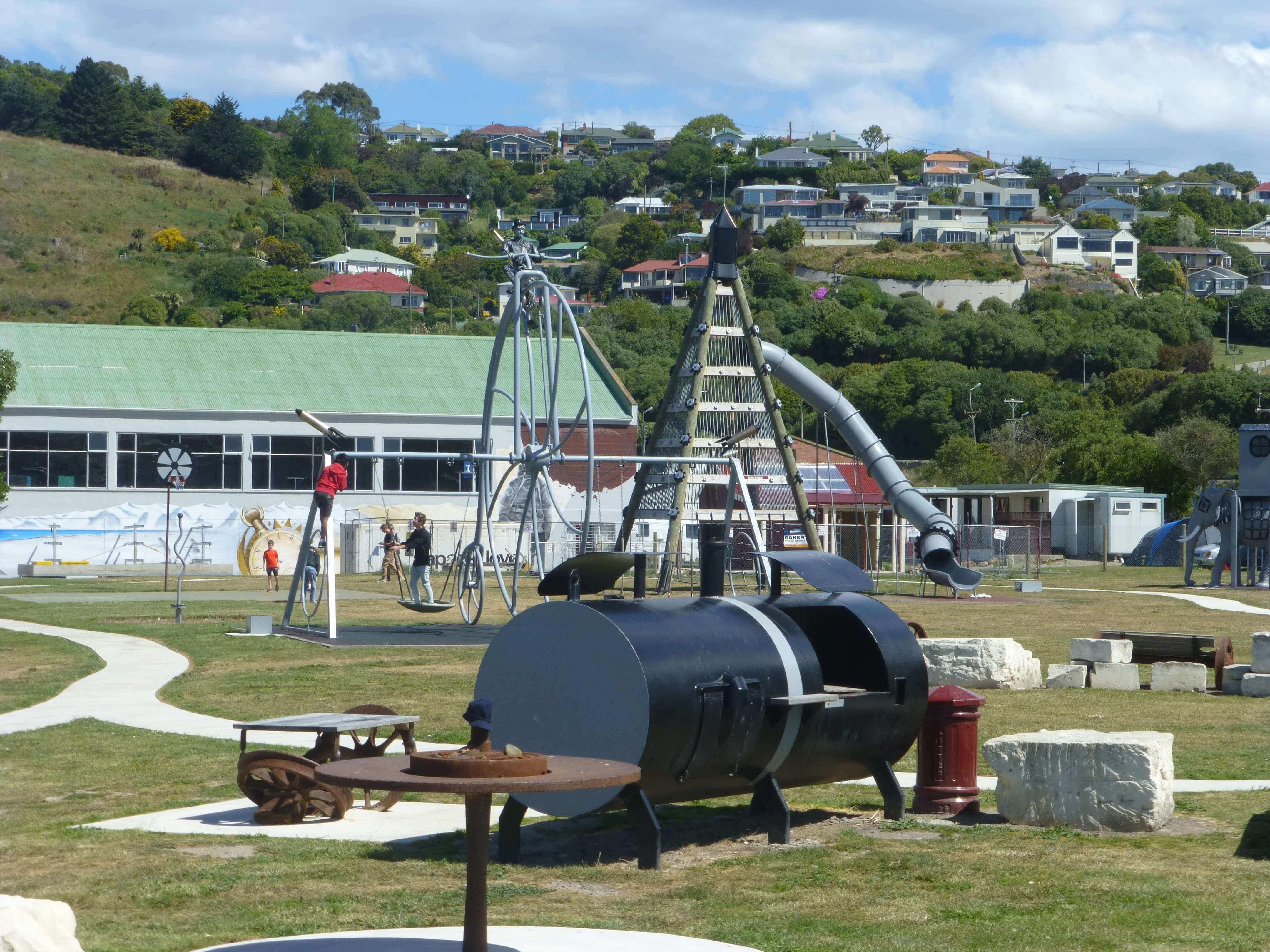 Im Hafen von Oamaru, Neuseeland 3