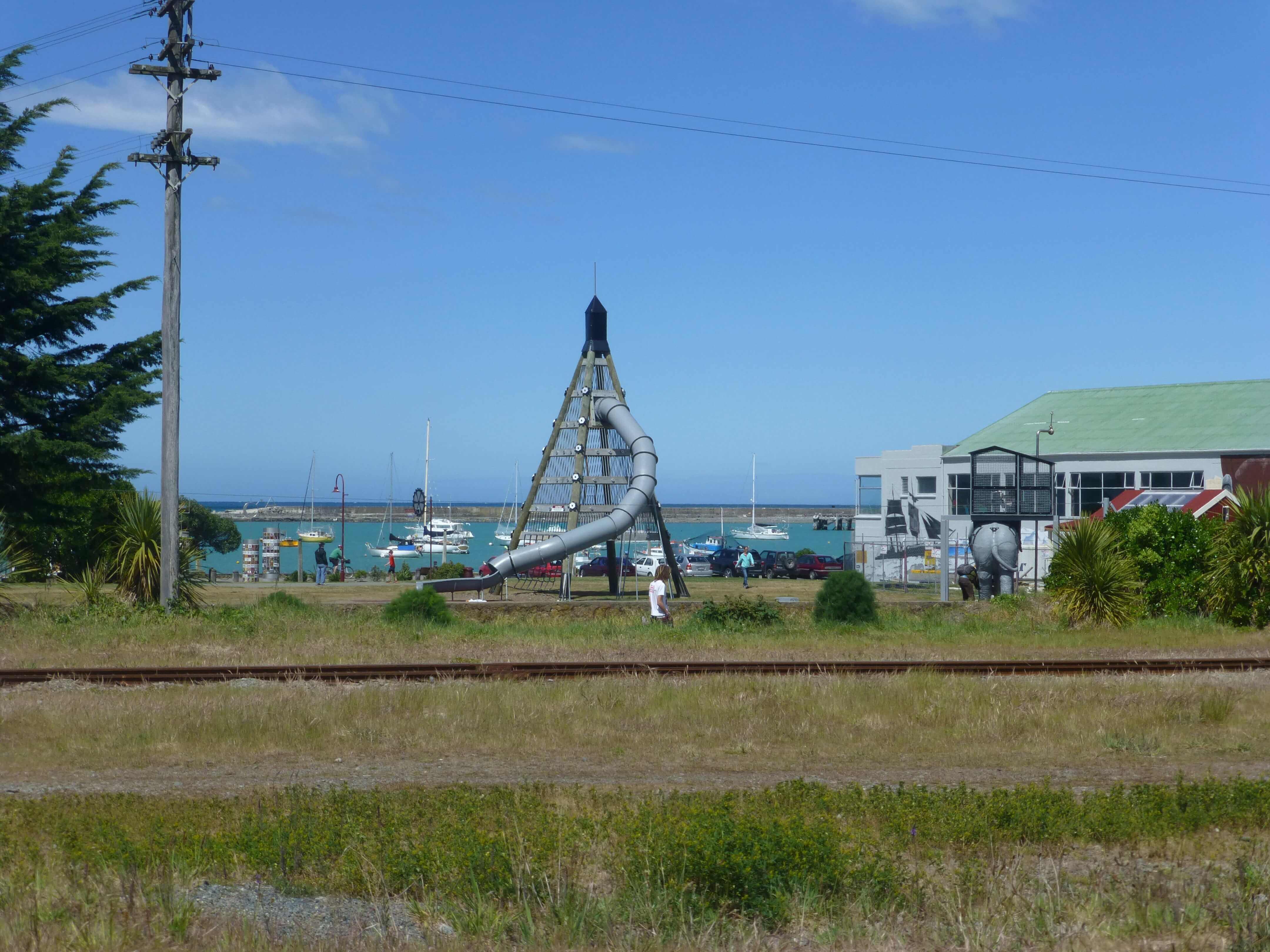 Im Hafen von Oamaru, Neuseeland 8