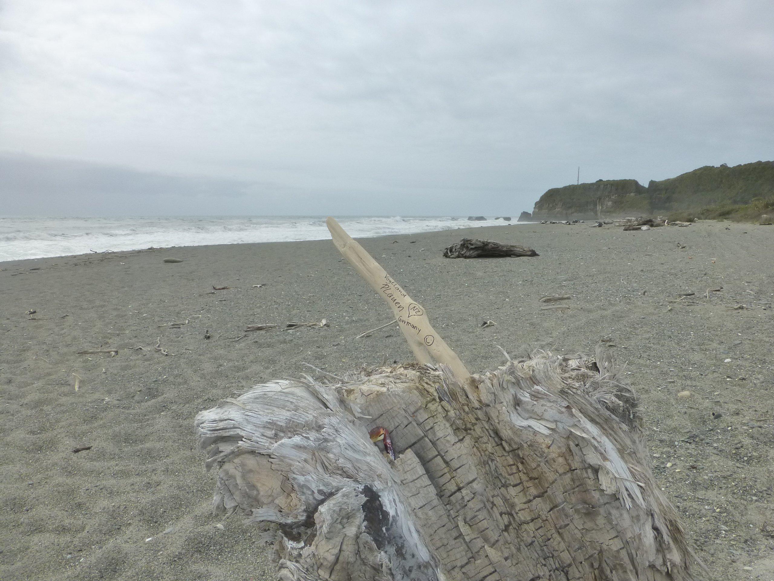 Black Sand Beach, Marker 1