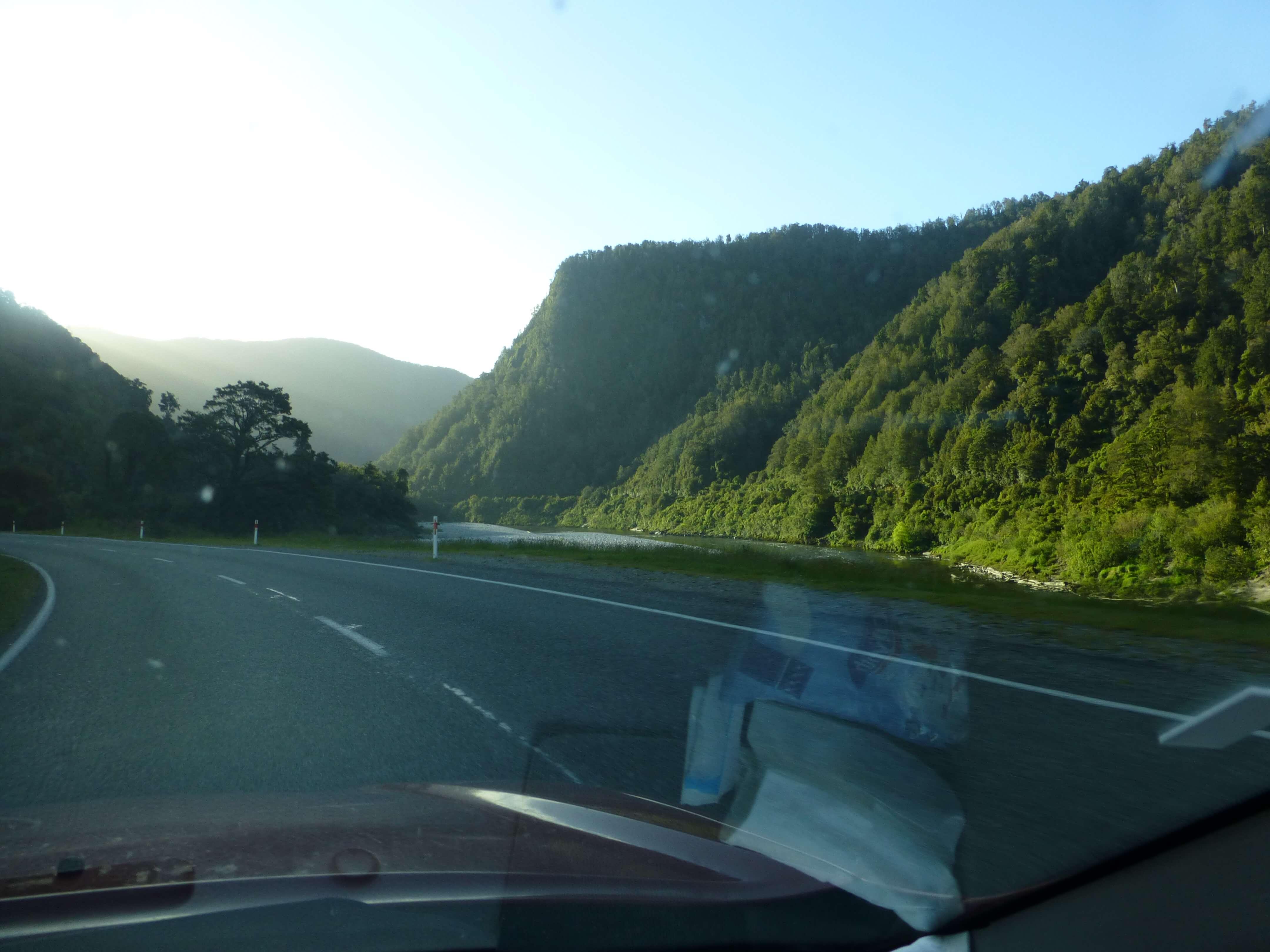 am Kilkenny Lookout, S6, Buller River, NZ 5