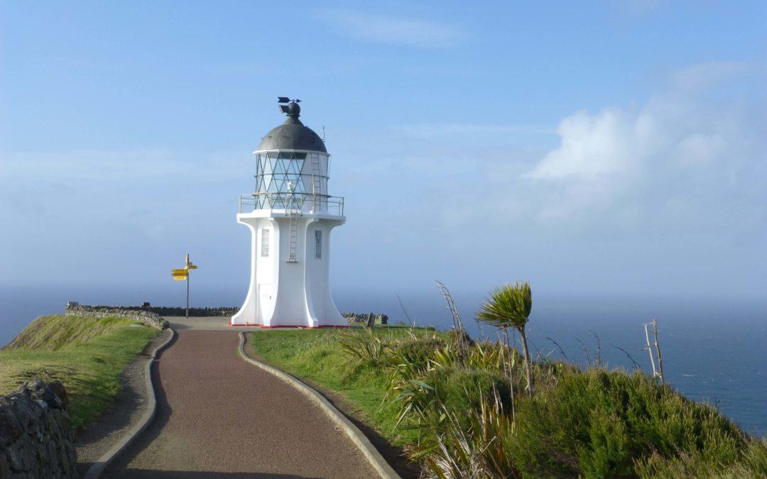 Reiseroute Neuseelandreise Oktober-November 2017