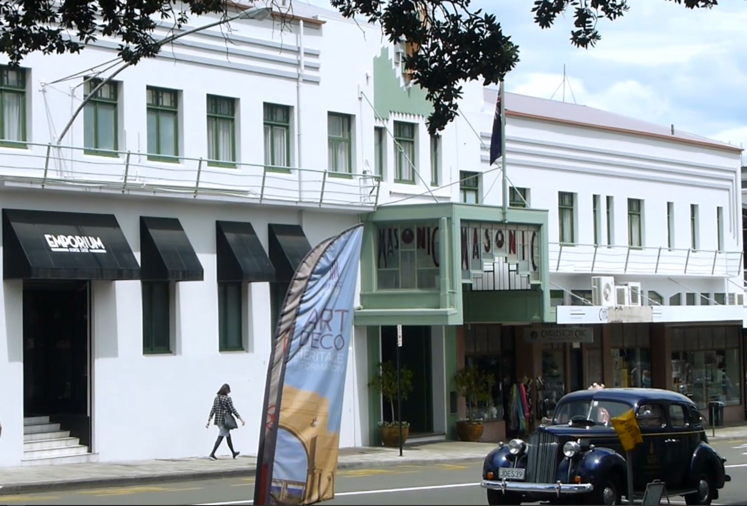 Weit weg Reisen, Napier, Art Deco City 9