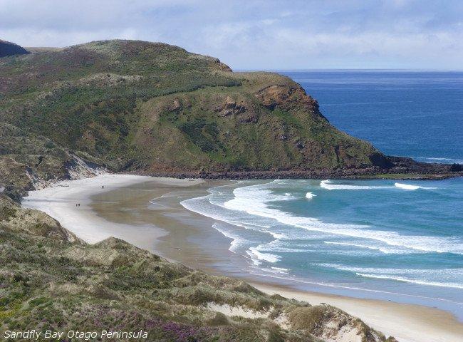 Sandflybay Otago Peninsula