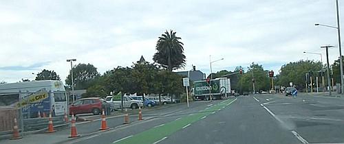 Straßenverkehr in Christchurch8