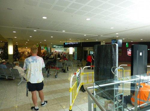 Flughafen Christchurch 3