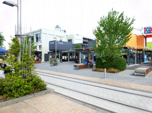 Christchurch City, Re: Start Mall, View