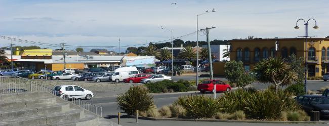 Christchurch, New Brighton, Pier und Mall
