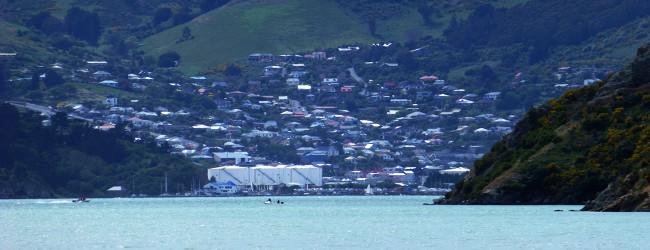 Lyttleton, in der Nähe von Christchurch