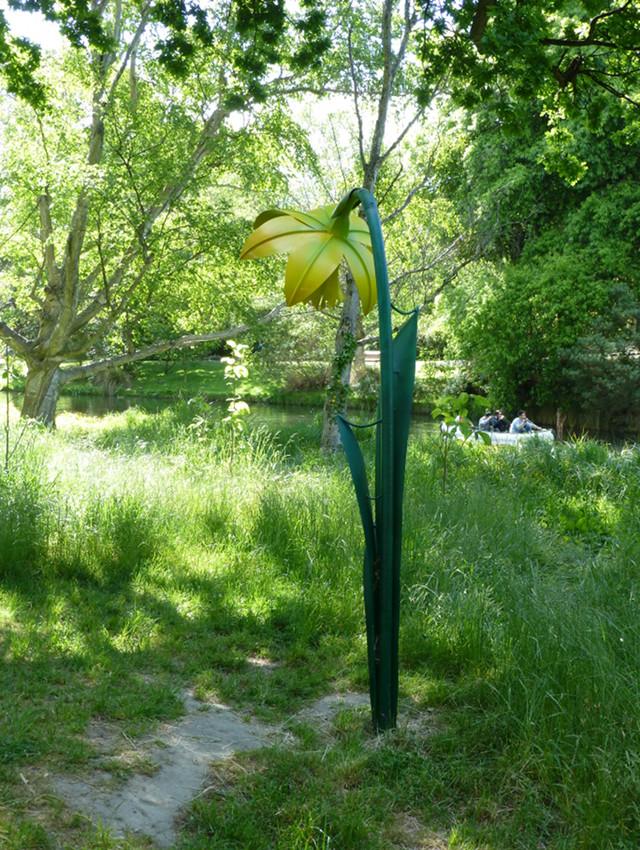 Botanischer Garten Christchurch, Skulptur, Narzisse