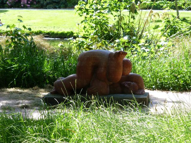 Steinskulptur botanischer Garten, Christchurch
