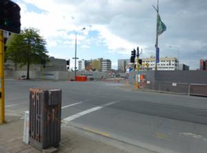 Christchurch, viele Baustellen