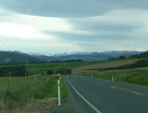 Landschaft Neuseeland Südinsel
