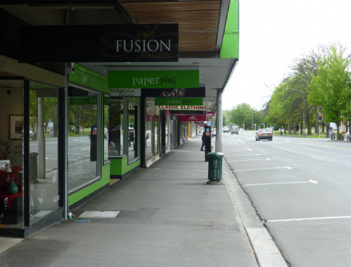 Ashburton Zentrum, Eaststreet