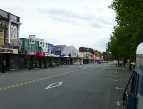 NZ, Ashburton Eaststreet