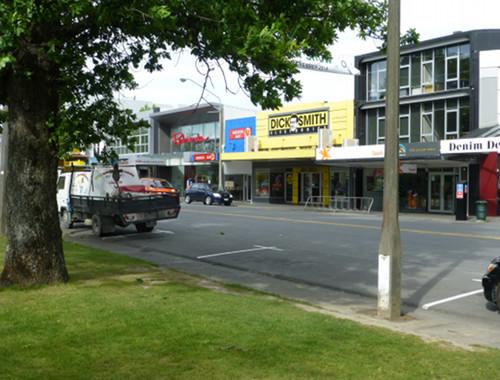 Ashburton, neuseeland, Eaststreet.