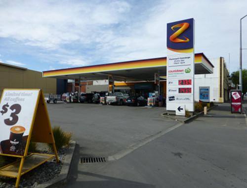 Ashburton, Z- Energy Tankstelle