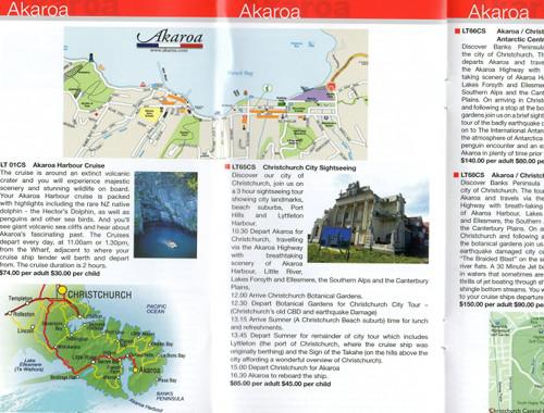 Akaroa Infobroschüre