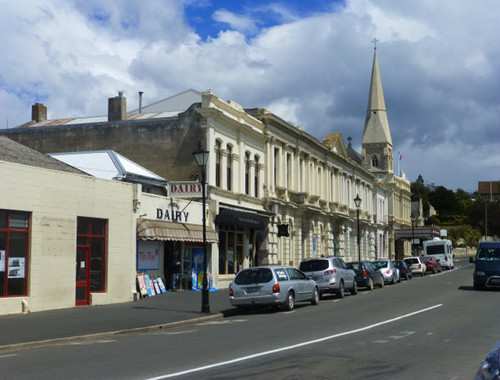 Oamaru Neuseeland, Itchenstreet
