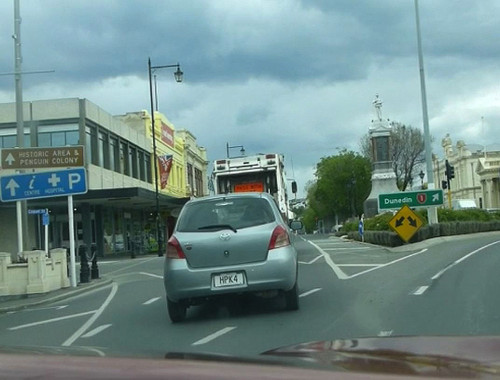 Oamaru Neuseeland, Thames Street