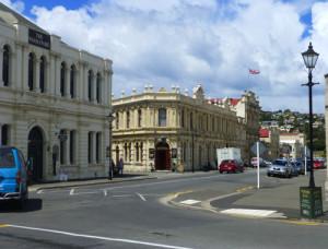 Oamaru Blick in die Thyne Street