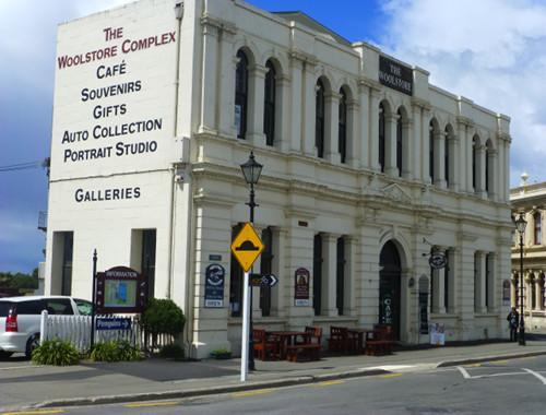 Oamaru Thyne Street, Galeriegebäude im Viktorianischen Stil