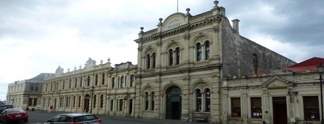 Oamaru, Gebäude im Viktoianischen Stil