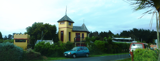 Aramoana Castle, Otago, Neuseeland