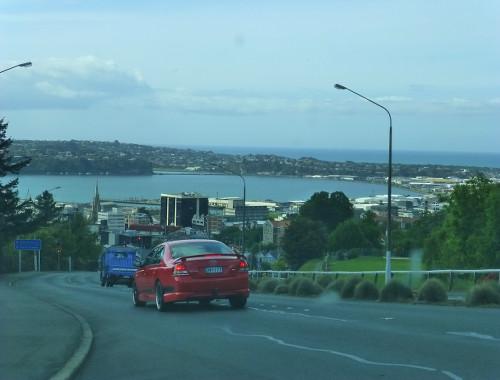 erste Blicke auf Dunedin