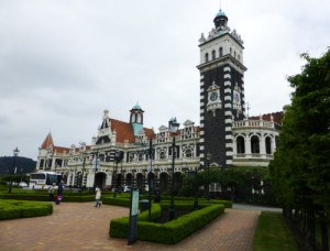 Neuseeland, Dunedin, historischer  Bahnhof