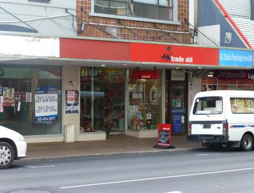 Dunedin, Georgestreet, Trade Aid