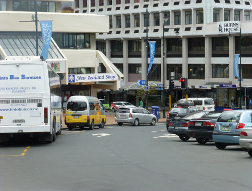 Neuseeland, Dunedin, Octagon 5