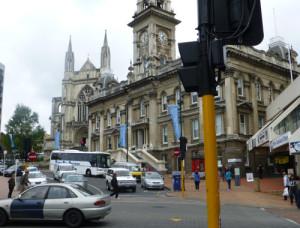 Dunedin, Townhall am Octagon