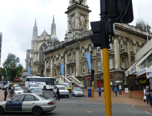 Neuseeland, Dunedin, Octagon-Townhall