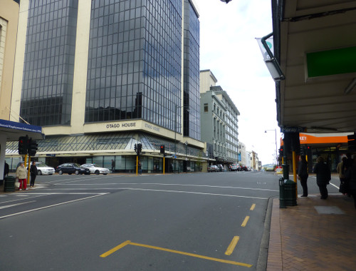 Neuseeland,Dunedin, Princesstreet 2