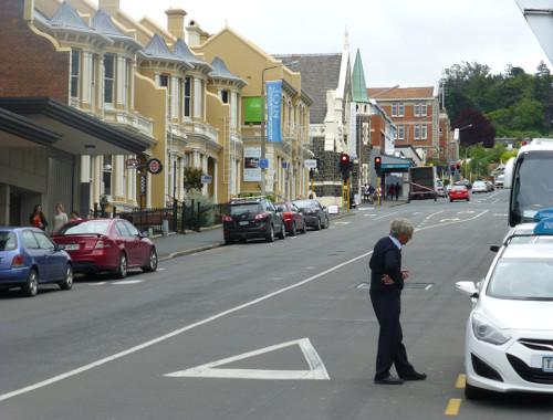 Dunedin, Neuseeland, Stuartstreet 1