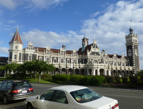 Dunedin, historischer Bahnhof