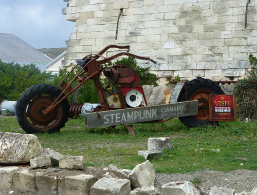 Steampunk-HQ Oamaru, Shopper
