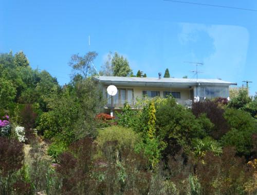Dunedin. Taeri Gorge, an der Strecke 2