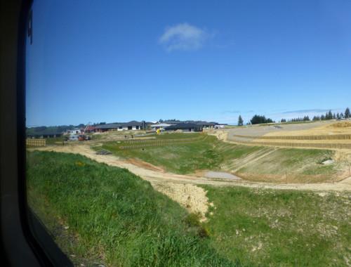 Dunedin. Taeri Gorge, an der Strecke 4
