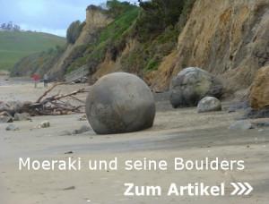 Moeraki und seine Boulders