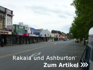 Rakaia und Ashburton