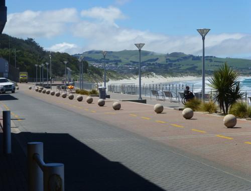 Dunedin NZ, Esplanade St. Clair