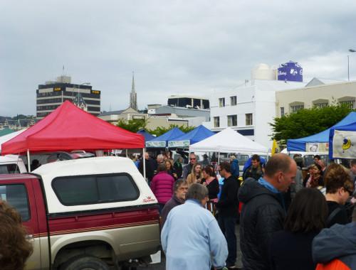Farmersmarket in Dunedin, Neuseeland