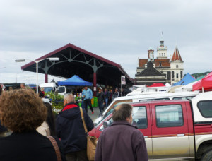 Farmersmarket, Dunedin, Neuseeland