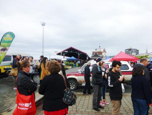 Dunedin, Neuseeland, Farmersmarket