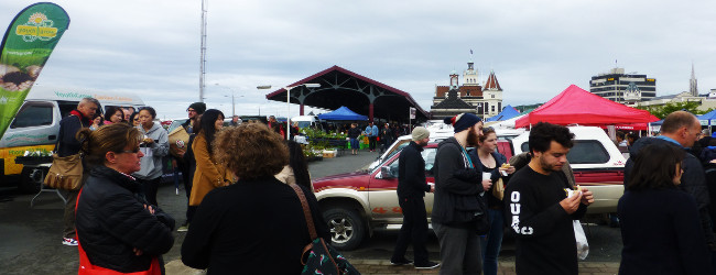 Farmersmarket in Dunedin
